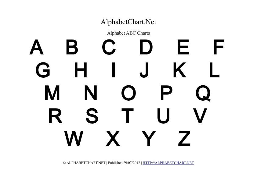 upper case letters uppercase alphabet charts in pdf normal bold italic 25384 | alphabet uppercase bold
